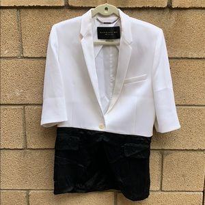 Barbara Bui color block long blazer